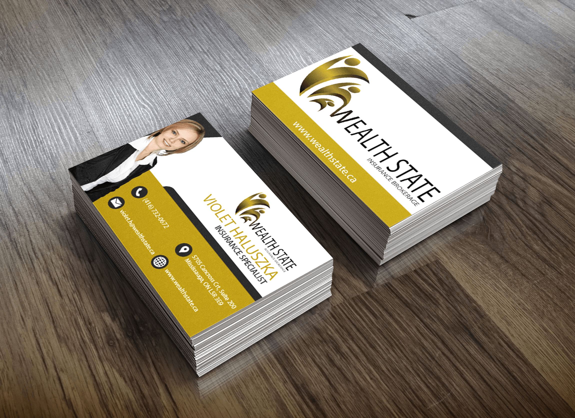 Wealth State Business Cards