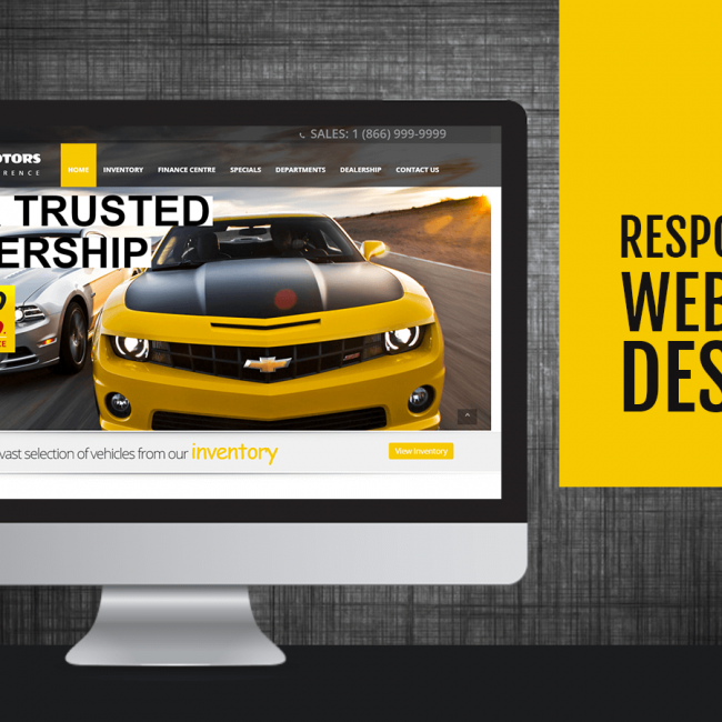 Demo Dealership Website