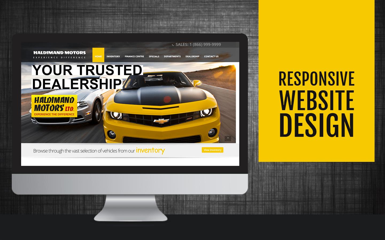 Demo Dealership Website