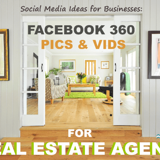 Facebook 360 and Real Estate
